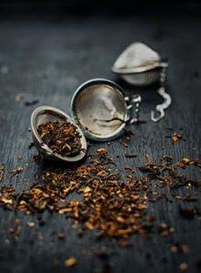 Tea in infuser