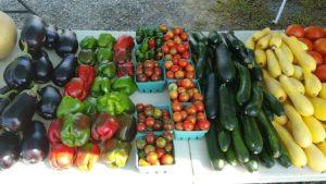 Array of Veggies at FoodiO Farmers' Market