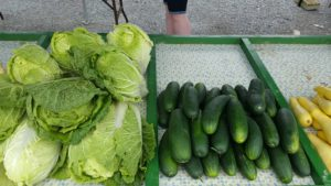 Cabbage and Cukes from Hill Crest Farm