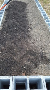Soil in the Raised Bed
