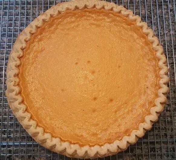 Signature Sweet Potato Pie
