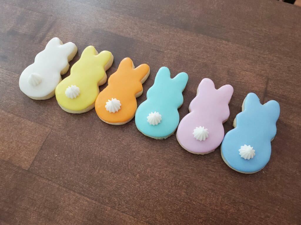 Bunny cookies (Set of Six)